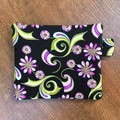 Coin Purse - Purple Floral