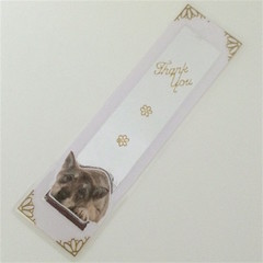 'Cattle Dog' Thank You Bookmark