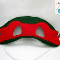 T.M.N.T - Childs Pretend Play Face Mask (Ninja Turtle)
