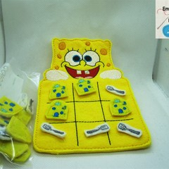SPONGE BOB - Children's Tic Tac Toe Game