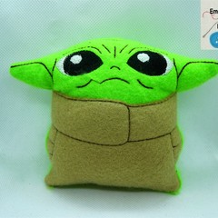 BABY YODA -  inspired Softie, Baby Yoda Stuffed Toy