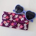 KIDS / MULTI POUCH - PURPLE - SAKURA  / Glasses case