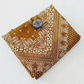 Foldable eco bag / BEIGE - Bandana