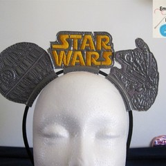 Handmade Disney Style Mouse Ear Headbands