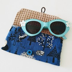 KIDS / MULTI POUCH - BLUE - FOREST cat