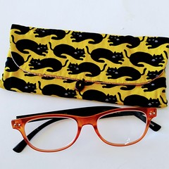 MULTI POUCH - YELLOW - BLACK cat