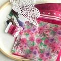 Slow Stitch Kit - Pink
