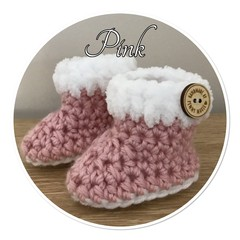 Baby Booties 0-1 Month