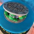 Teenage Mutant Ninja Turtle Cake Decoration