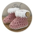 Baby Booties 1-3 Months