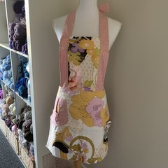 Flower low waisted Retro vintage style apron Free Postage