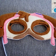 SKYE - Handmade Eye Mask and Wings Set -  (Paw Patrol Nickelodeon)