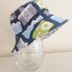 Boys summer hat in camera fabric