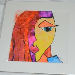 Picasso Inspired face