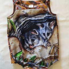 Possum play suit