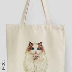 Original picture tote  - Catball01