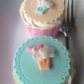 1950's milkshake cupcake toppers