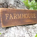 Rustic Farmhouse Reclaimed Timber Sign