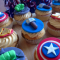 Avengers Superhero Cupcake toppers