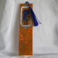 Blue Flowers Bookmark