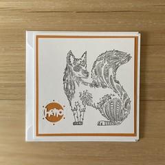 Hello. Handmade card