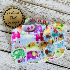 Bib Burpcloth and Organic Teether Set