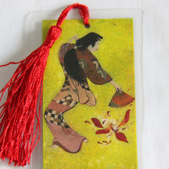 Fan Dancer Bookmark