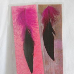 Feathers Bookmark