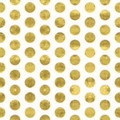 GOLD POLKA DOT ENVELOPES