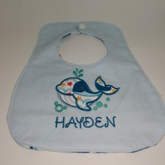 Personalised Embroidered Double Sided Bibs
