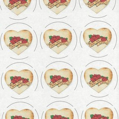 HEART SHAPED SAVE THE DATE STICKERS