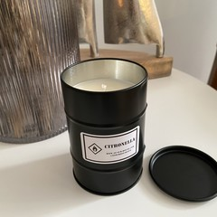Mini 44 Gallon Drum Soy Candle