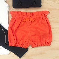 Size 2 - Bubble Shorties - Orange - Bloomers