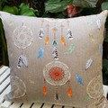 Dreamcatcher Cushion With Recycled Insert