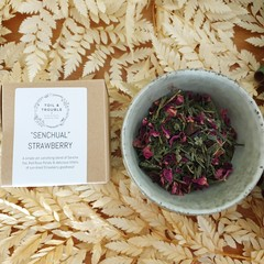 """Senchual"" Strawberry Tea Blend"