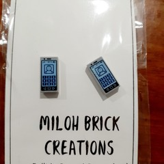 RECTANGLE - Rectangle Printed Stud Earrings