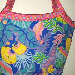 Bright Reef bucket bag