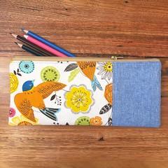 Pencil Case - Bird