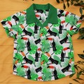 Boy's Button up Shirt - Tantalising Toucans - Size 2