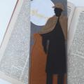 Sherlock Holmes Inspired Literary Felt Bookmark