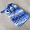Crochet Spa Set - Face scrubbies, soap saver, washer