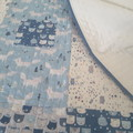 Baby quilt and cushion set,cot quilt, baby blanket, baby quilt