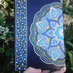 Mandala,Hardcover minimalist notebook for everyday use,Yoga journal