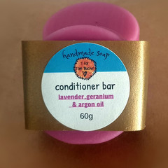 Lavender,Geranium and Argan Oil Conditioner Bar