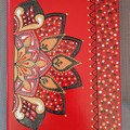 a5 lined notebook,Exclusive design,Hand painted notebook, My design notebook