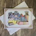 Happy Birthday Dear Granddaughter Card