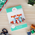 Fox Family HARD COPY Paper Sewing Pattern