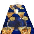 Modern Table Runner Contemporary Place Mat Colourful Table Linen Indoor Outdoor