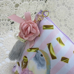Ladies Clutch - Evening, Day, Wedding, Race Day, Garden Party - Robin