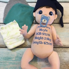 Personalised Newborn Baby Doll